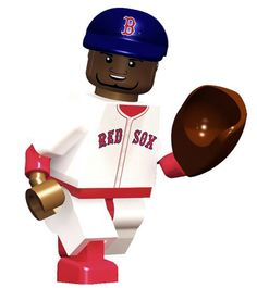 David Ortiz thingy! You know you've arrived when you've been immortalized in Legos!!