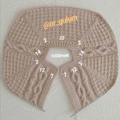 Baby Knitting Patterns, Baby Patterns, Crochet Patterns, Diy Crochet Sweater, Knit Crochet, Crochet Hats, Crochet Baby Booties, Crochet Videos, Easy Knitting
