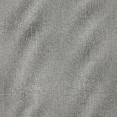 Platinum Grey Plain  Tweed Upholstery Fabric