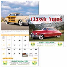 7042 - Classic Autos - Spiral #goodvalue #livebicgraphic #promoproducts #calendars Automobile Industry, Writing Instruments, Car Insurance, Spiral, Classic Cars, Wall Calendars, Autos, Vintage Classic Cars, Classic Trucks