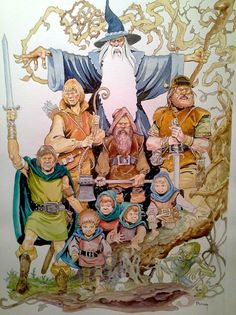 Ralph Bakshi's Lord of the Rings 'The Fellowship'