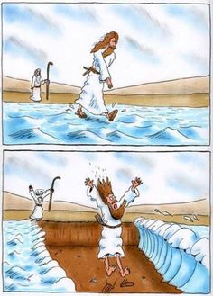 Funniest biblical humor I have seen in a while