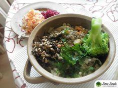 Čočkový guláš s rýží, ovsem a hatomugi » Jíme Jinak