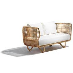 Bilder på Jämför priser på Cane-Line Nest Soffa (2-sits) - 6c905773d2455