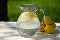 5 Reasons for Lemon Water.I love lemon water! I drink it everyday! Healthy Drinks, Get Healthy, Healthy Tips, Eating Healthy, Healthy Choices, Healthy Food, Health And Nutrition, Health And Wellness, Health Fitness