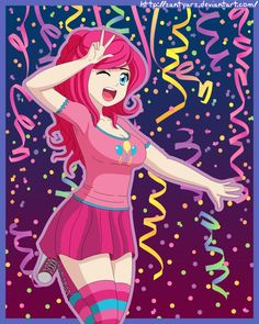 Pinkie Pie Human by ~ZantyARZ on deviantART