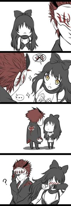 adam taurus and blake belladonna, i can't even imagine what his face looks like