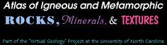 Atlas for Minerals, Igneous & Metamorphic Rocks