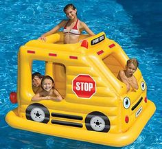 Pool Bus Inflatable Swimming Pool Float  Price: $76.95