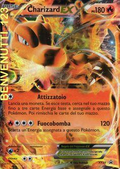 CHARIZARD EX IN ITALIANO  OLOGRAFICA MAI GIOCATA NUOVA IN ITALIANO PROMO XY29
