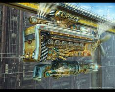 Nice explanation for the Steampunk genre and some great Steampunk pics, too