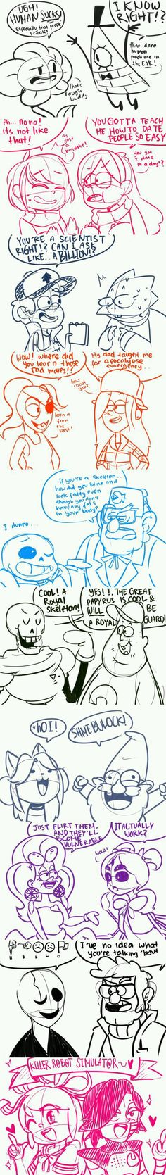 Undertale x Gravity Falls