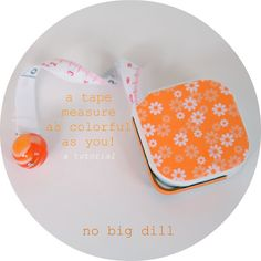 no big dill: NEO: a tape measure as colorful as you!