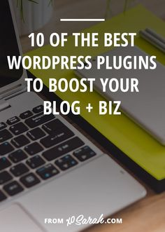 Looking to make your site run smarter, better, faster, stronger? Here are 10 of my favorite WordPress plugins to help boost your blog or online business TODAY!