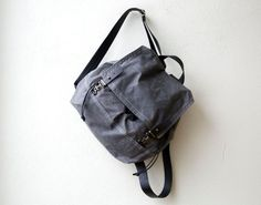 1905 DESIGNATED  PACK - waxed canvas backpack - waxed canvas laptop bag