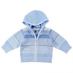 Absorba Baby Boy Blue Patterned Cardigan