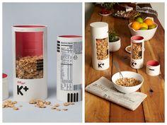 Un packaging original et pratique pour les céréales