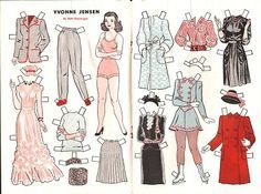 paper dolls by illustrators - Google Search