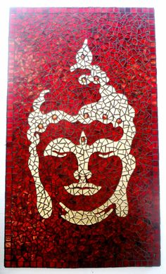 """The point of the spiritual revolution is not to become a good Buddhist, but to become a wise and compassionate human being, to awaken from our life of complacency and ignorance and to be a Buddha. Mosaic Tile Art, Mosaic Glass, Glass Art, Buddha Kunst, Buddha Art, Buddha Buddhism, Mosaic Art Projects, Mosaic Crafts, Mosaic Designs"