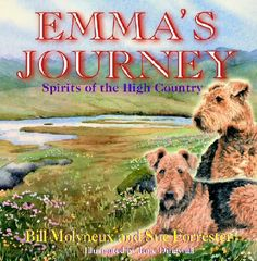 A heart warming story of love and loss, grief and renewal.  A book for children of all ages, Adults too http://www.emmasjourney.com/