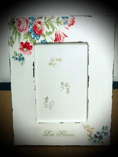 Porta Retratos Pátina - Floral