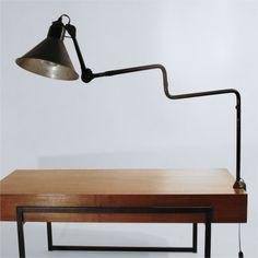 Lampe GRAS n°211, sous l'ère Ravel