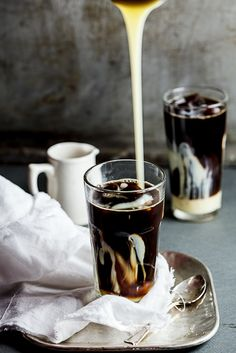 My Ultimate Iced Coffee with sweetened Condensed Milk. #Recipe #drinks