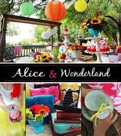 Alice in Wonderland (ONEderland) theme for 1st birthday