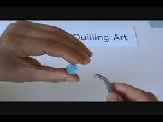 paper quilling Basic Shapes & Techniques tutorial