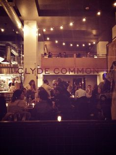 Clyde Common at Ace Hotel // Portland