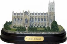 Duke University Collection of Gifts - Duke® Chapel Replica University Store, Duke University, Duke Blue Devils, Around The Worlds, Mansions, House Styles, Sculpture, Gift Ideas, Gifts