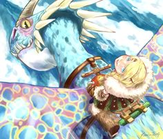 Astrid art httyd2- I give good credit to artist