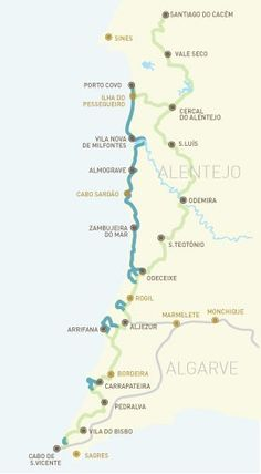 Portugal Lies In SW Europe On The Iberian Peninsula Its The - Portugal road map algarve