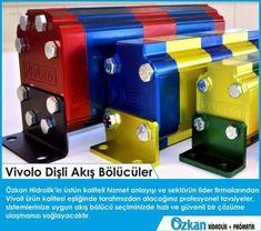 Vivolo Flow Dividers  With the assurance of Vivoil's product quality and Özkan Hidrolik's high quality service standarts, you'll receive professional advices from our experts which is going to provide you a fast and safe solution.    www.ozkanhidrolik.com.tr  Vivoil Oleodinamica Vivolo