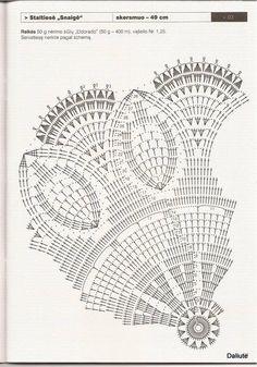 Mattress crocheted Balbatron circular - circular crochet doily ~ Knitting NEEDLE CRAFTS