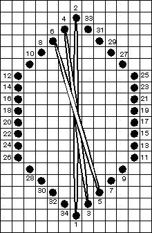 Rhodes Stitch Variation