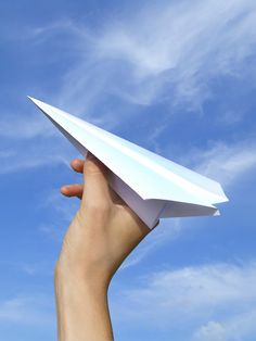 Paper airplanes are an excellent way of getting kids interested in the aviation technology.