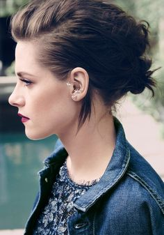 Hair & makeup: Kristen Stewart