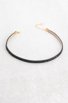 Lovoda - Glitter Choker | Black, $4.00 (https://www.lovoda.com/glitter-choker-black/)