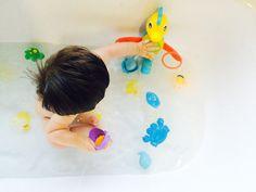 Bath time fun with Playgro Brand Rep Ollie