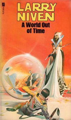 PETER ANDREW JONES - art for A World Out of Time by Larry Niven - 1979 Orbit Books
