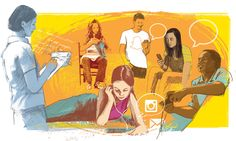 Read Generation Z Online by The Washington Post What Is Like, This Is Us, Seo Services Company, Generation Z, Social Art, Social Media, Digital Citizenship, Hand Sketch, Silk Screen Printing