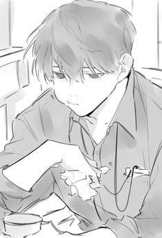 Drawing Reference Poses, Manga Art, Anime Art, Drawing Sketches, Drawings, Drawn Art, Anime Poses, Ecchi, Anime Guys