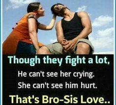 Luv u brother