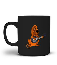 # Funny Cool Bloodhound Playing the Banjo Mug .  **We Ship Worldwide!**Only available for a LIMITED TIME, so get yours TODAY! Printed in the U.S.A. If you buy 2 or more you will save on shipping!Available in different styles and colors.*Satisfaction Guaranteed + Safe and Secure Checkout via PayPal/Visa/Mastercard*Click the Green Button below and select your size and style from the drop-down menu and reserve yours before we sell out!