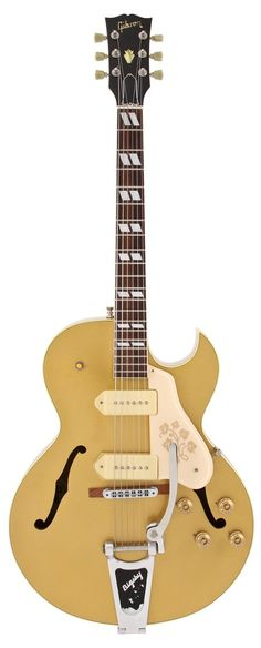 Gibson Electric Guitar | 1990 ES 295 All Gold Finish | Rainbow Guitars