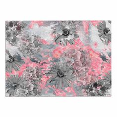2 x 3 Floor Mat Kess InHouse EBI Emporium Follow The Current 4 Pink Green Decorative Door