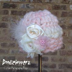 Unique Merino Wool HatGirlPinkLight by Doodlebopperz on Etsy, $28.00