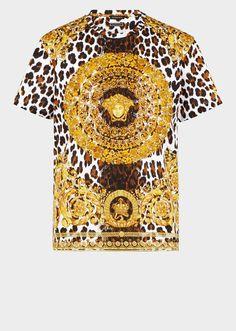T-shirt Tribute Wild Baroque - Versace Donna