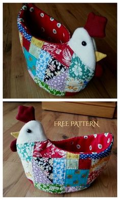 Potholder Patterns, Sewing Patterns Free, Free Sewing, Tote Pattern, Potholders, Small Sewing Projects, Sewing Crafts, Chicken Pattern, Easter Fabric